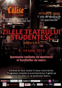 Zilele Teatrului Studentesc In Culise - editia a doua mic