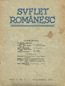suflet romanesc