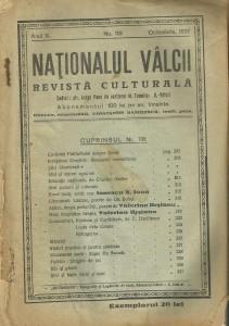 nationalul valcii