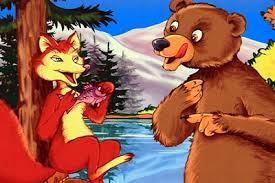 Ursul pacalit de vulpe | Prescolar.ro