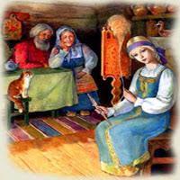 Fata babei şi fata moşneagului - poveste de Ion Creangă