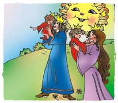 Doi feţi cu stea în frunte de Ioan Slavici - Povești, povestiri și basme  pentru copii