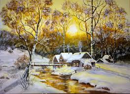 Amurg de iarna de Calin Vacaru
